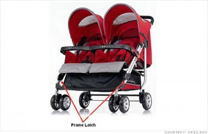 Mom Recall Watch:  Zooper Strollers for Latch Failure, Collapse