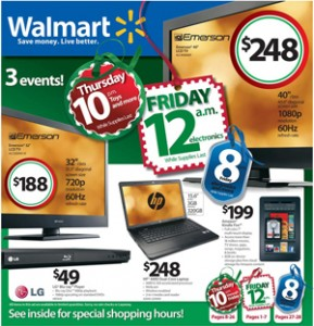 Black Friday Sneak Peek:  Walmart