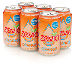 Giveaway: Zevia Natural Soda – 2 Six-packs